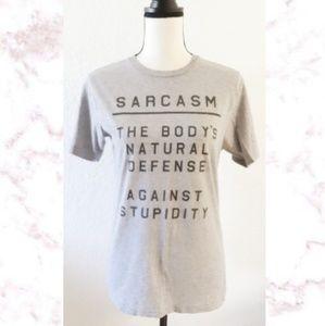 Hot Topic Sarcasm Tee